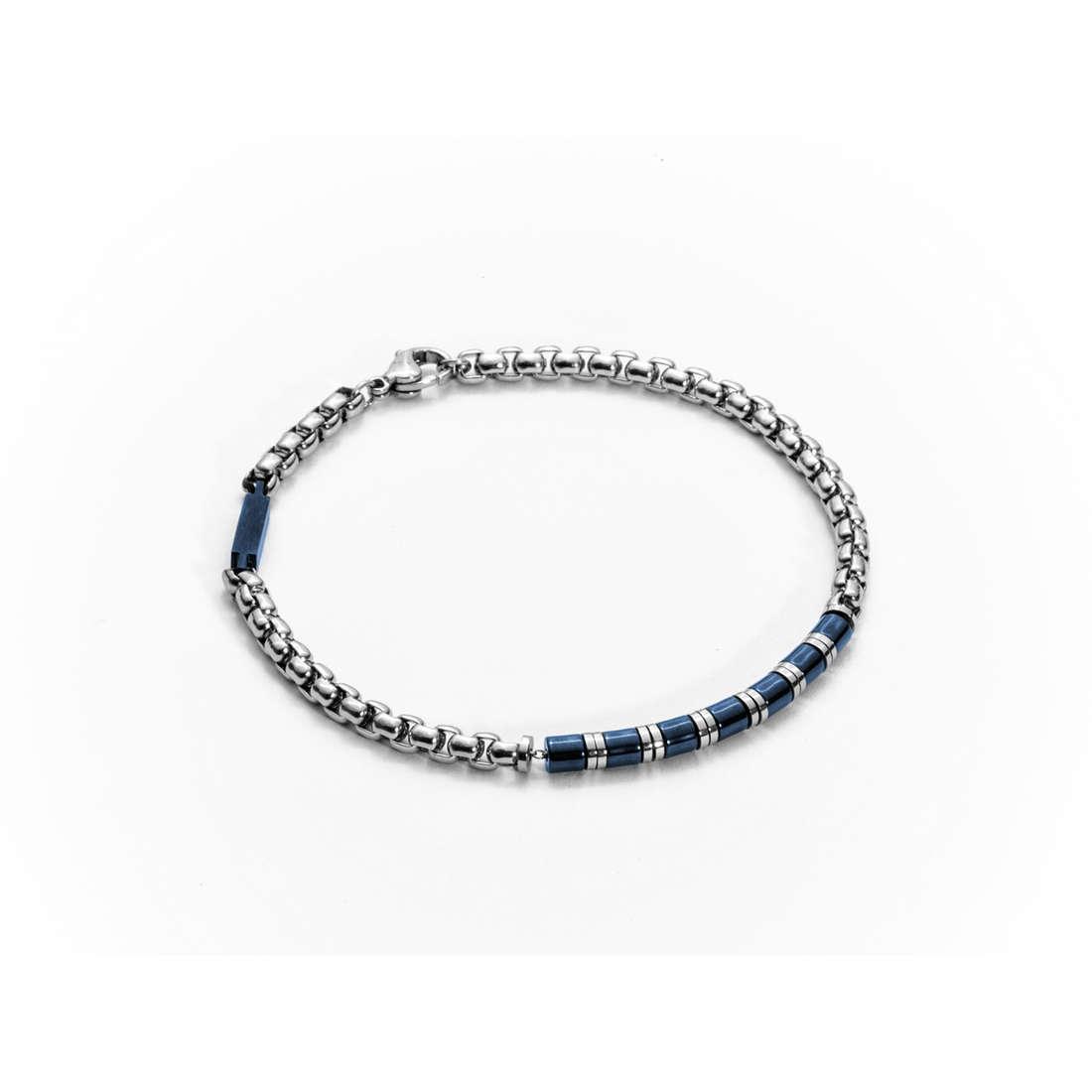 bracelet man jewellery 4US Cesare Paciotti Steel 4UBR1284