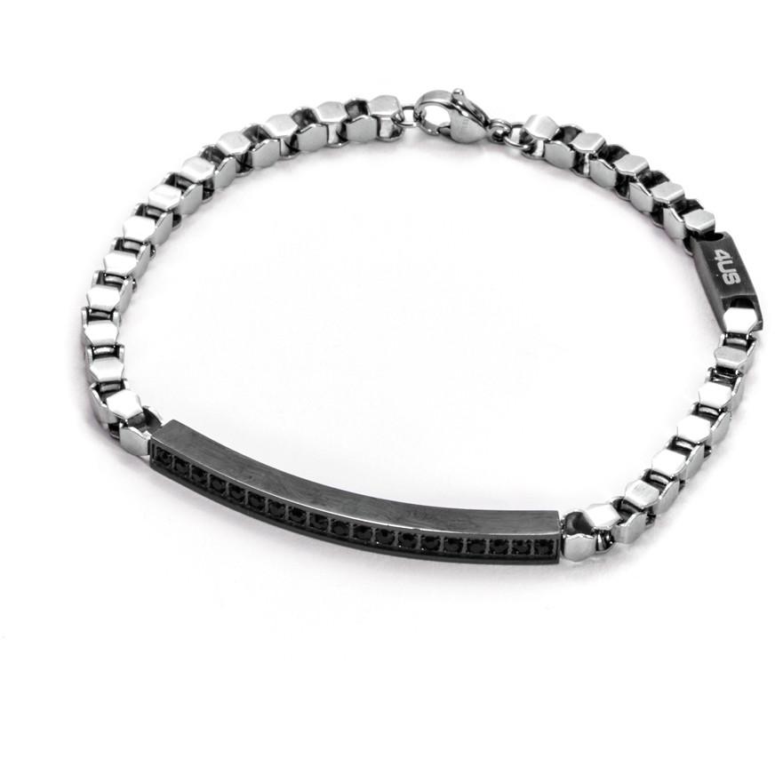 bracelet man jewellery 4US Cesare Paciotti Steel 4UBR1289
