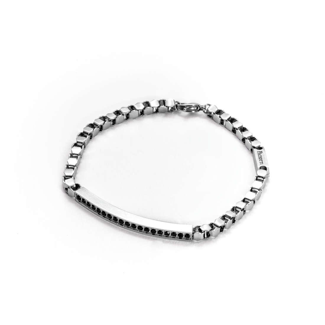 bracelet man jewellery 4US Cesare Paciotti Steel 4UBR1290