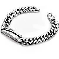 bracelet man jewellery 4US Cesare Paciotti Steel 4UBR1314