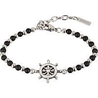 bracelet man jewellery Breil Black Onyx TJ2408