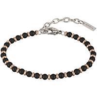 bracelet man jewellery Breil Black Onyx TJ2409