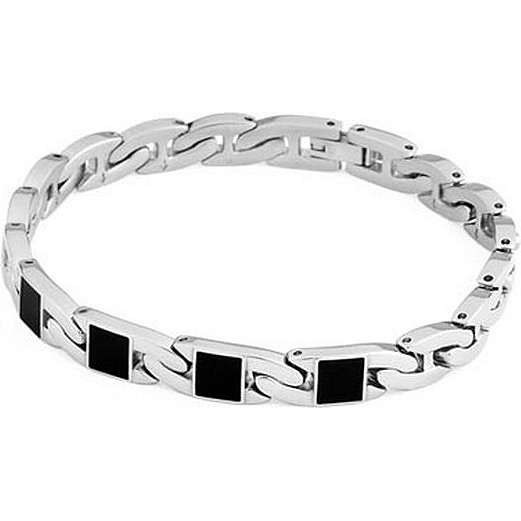 bracelet man jewellery Brosway Flat chain BFC24