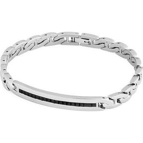 bracelet man jewellery Brosway Flat chain BFC31