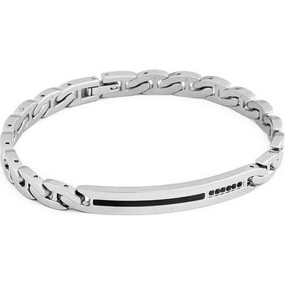 bracelet man jewellery Brosway Flat chain BFC32
