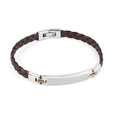 bracelet man jewellery Brosway Incas BNC12B