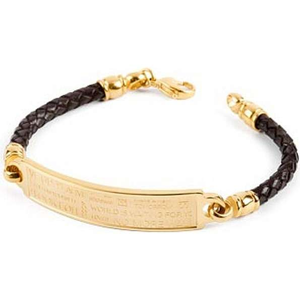 bracelet man jewellery Brosway Memento BNM01A