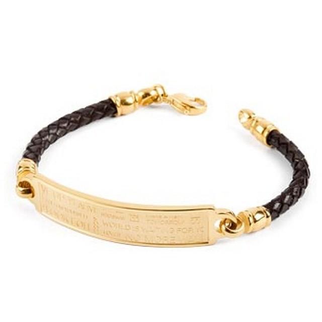 bracelet man jewellery Brosway Memento BNM02B