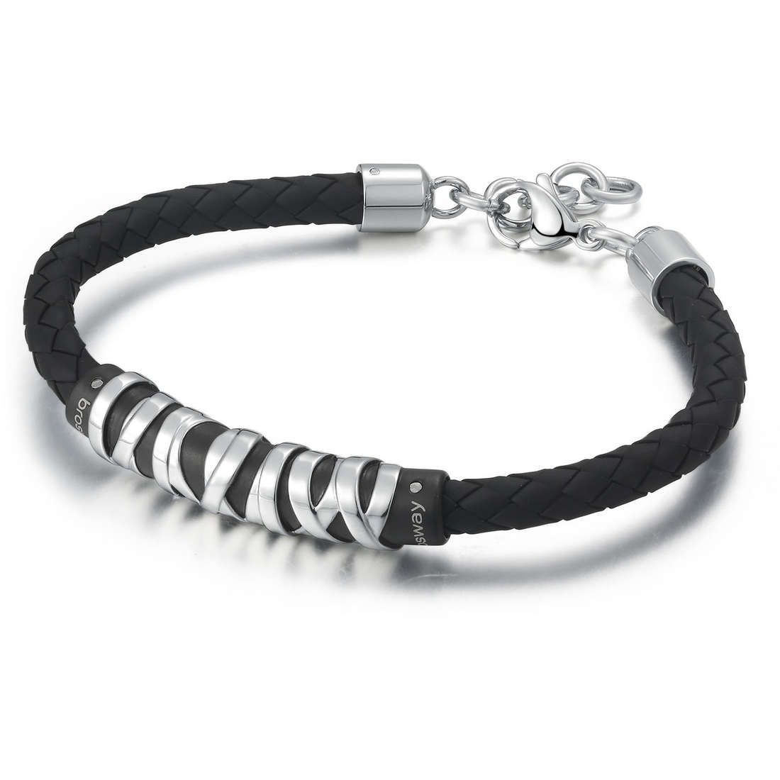 bracelet man jewellery Brosway Stoneage BOG12S