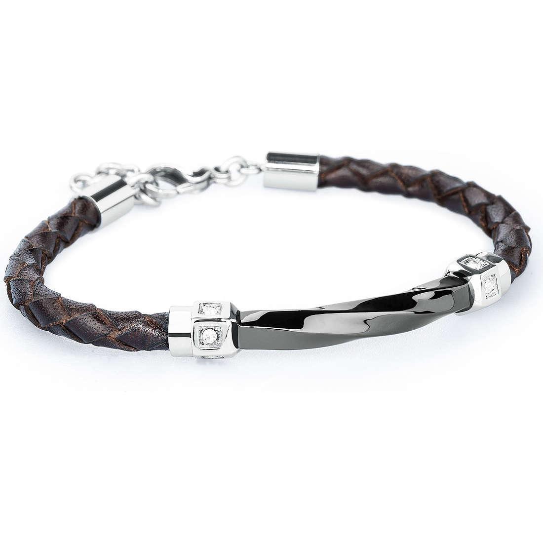 bracelet man jewellery Brosway Warp BWP11
