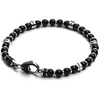 bracelet man jewellery Cesare Paciotti Black Latch JPBR1419B