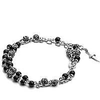 bracelet man jewellery Cesare Paciotti Black Thinking JPBR1426B