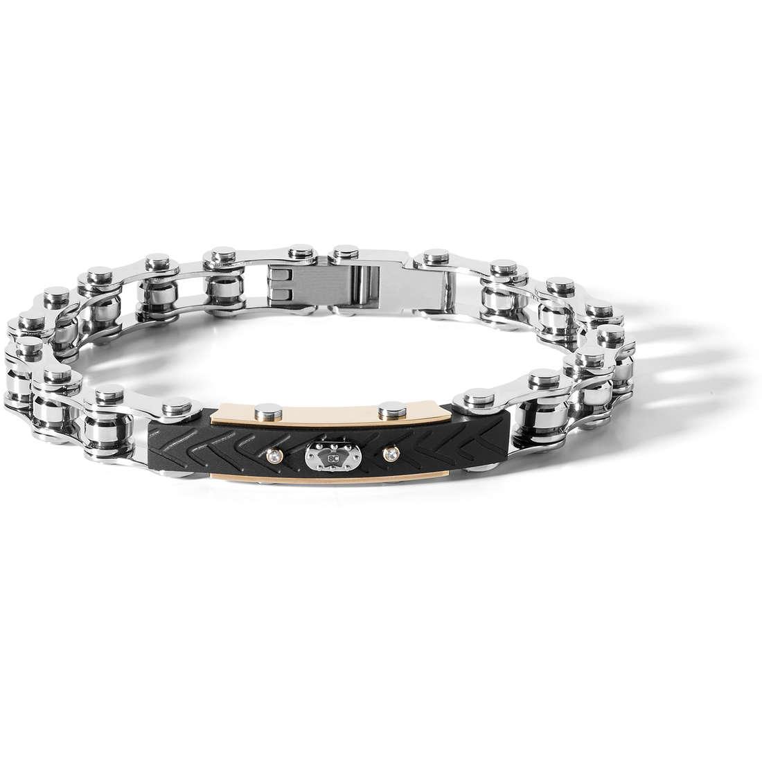 bracelet man jewellery Comete 8Cilindri UBR 706