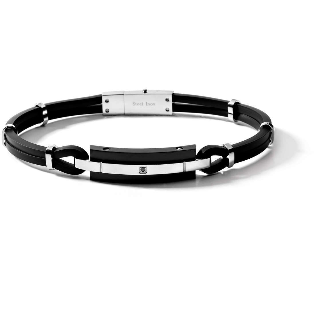 bracelet man jewellery Comete Acciaio UBR 238