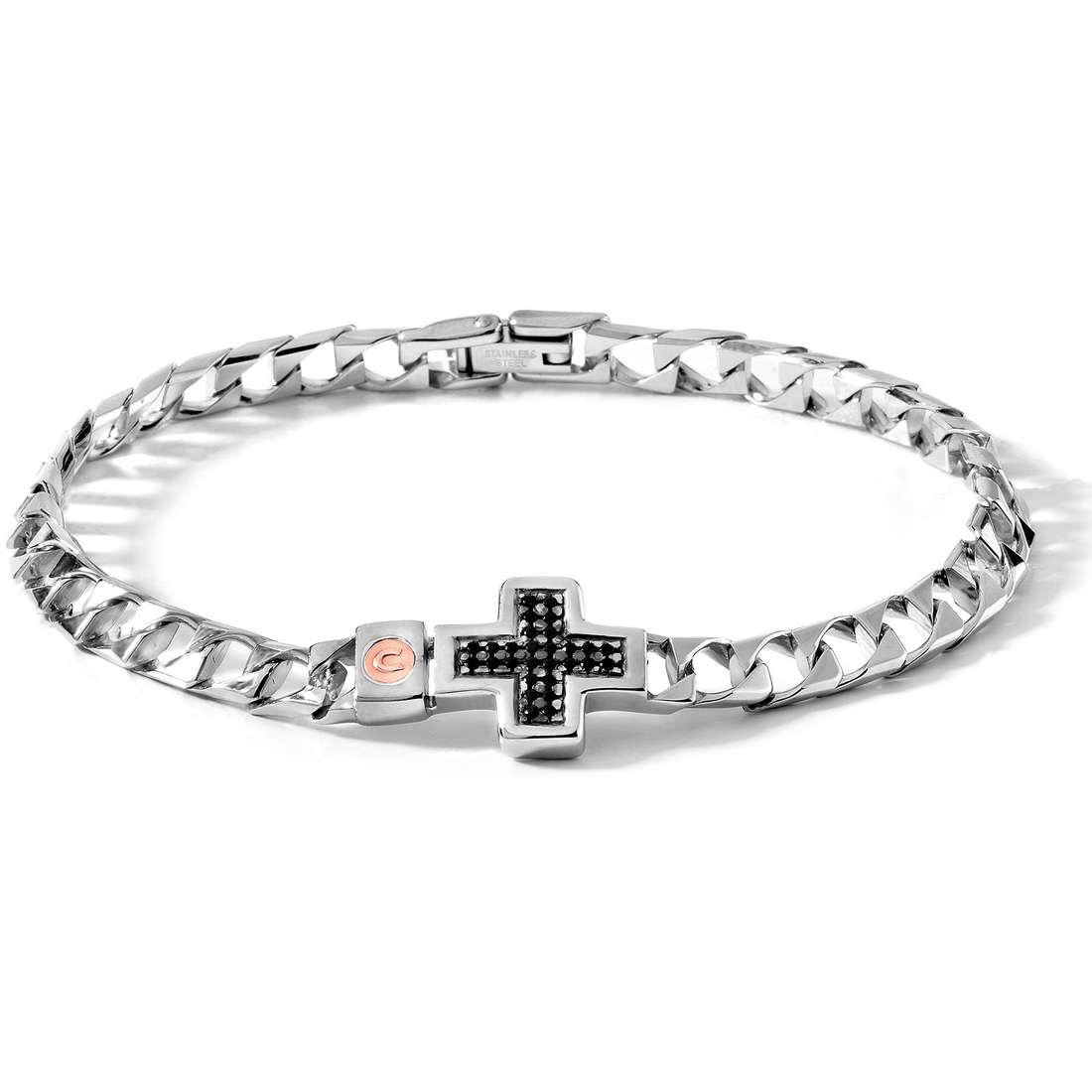 bracelet man jewellery Comete Acciaio UBR 321