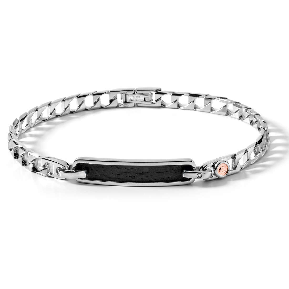 bracelet man jewellery Comete Acciaio UBR 349