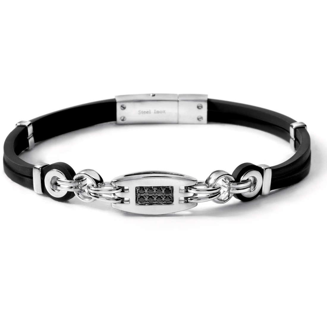 bracelet man jewellery Comete Acciaio UBR 362