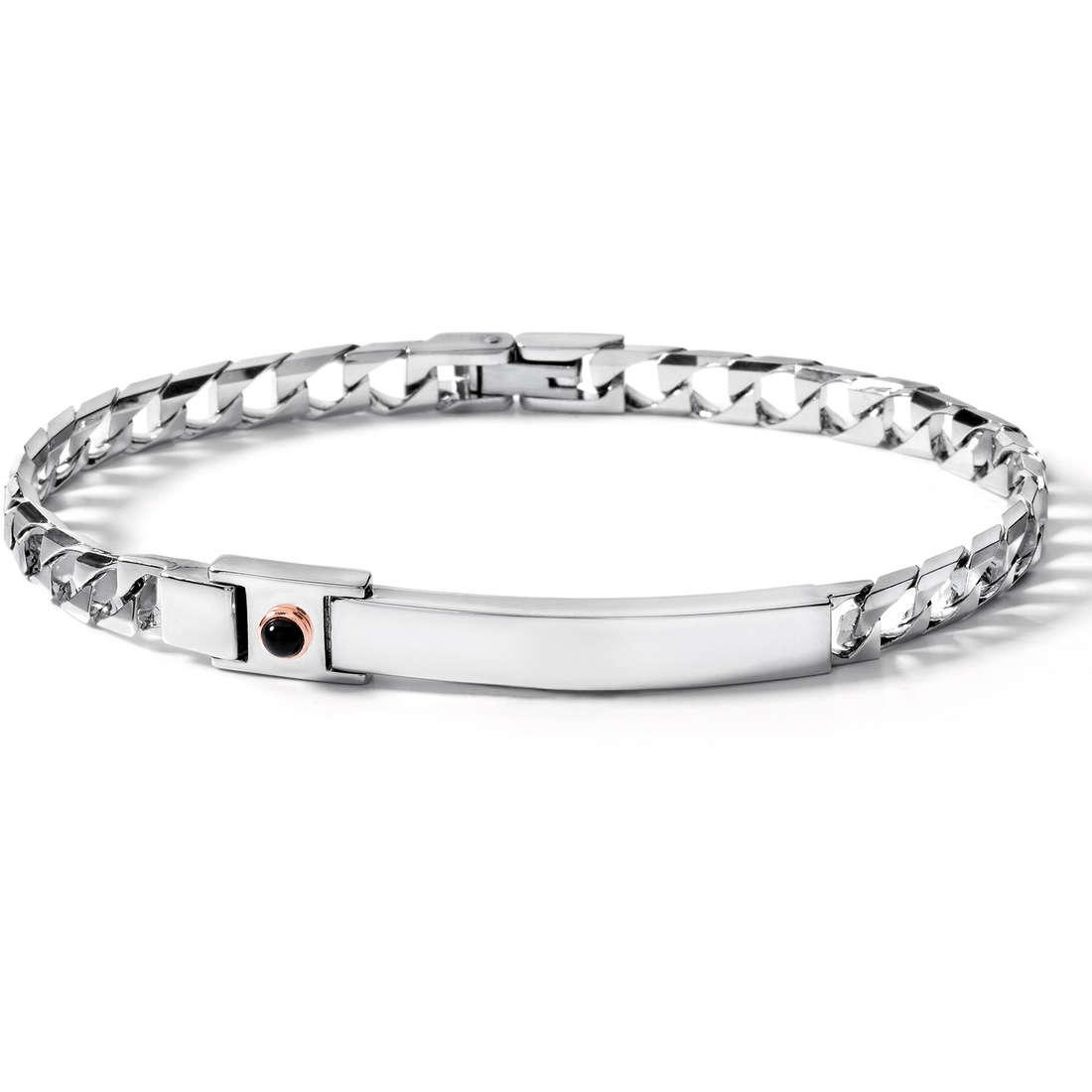 bracelet man jewellery Comete Acciaio UBR 369