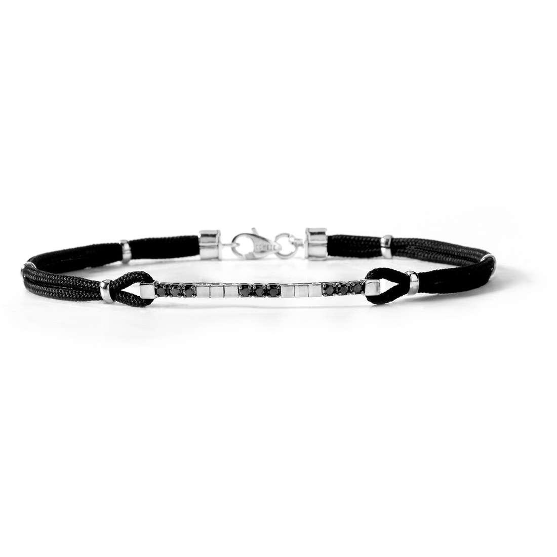 bracelet man jewellery Comete Acciaio UBR 374