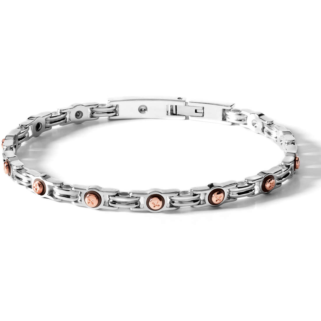 bracelet man jewellery Comete Acciaio UBR 378