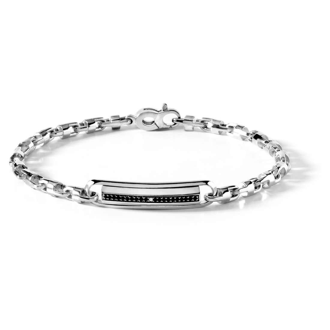 bracelet man jewellery Comete Acciaio UBR 379