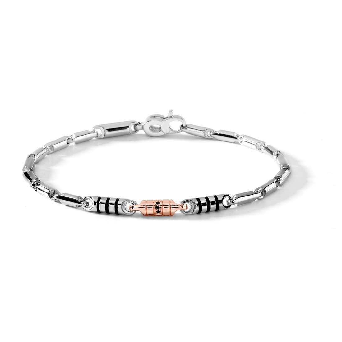 bracelet man jewellery Comete Acciaio UBR 382