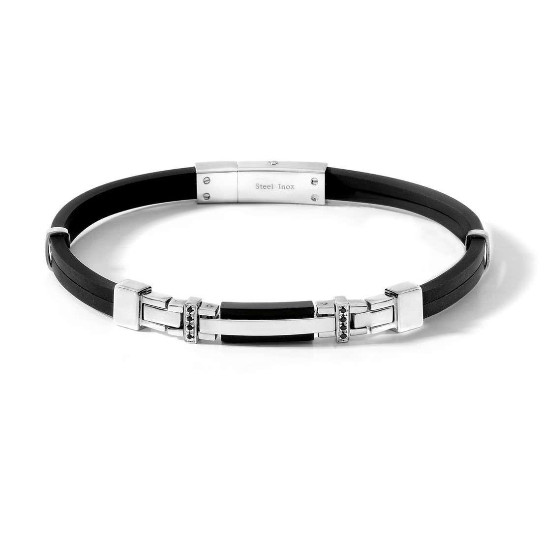 bracelet man jewellery Comete Acciaio UBR 383