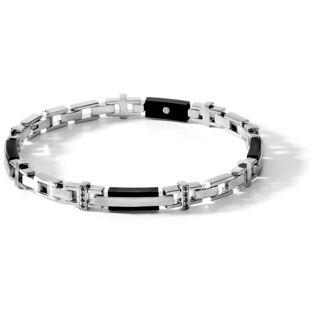 bracelet man jewellery Comete Acciaio UBR 384