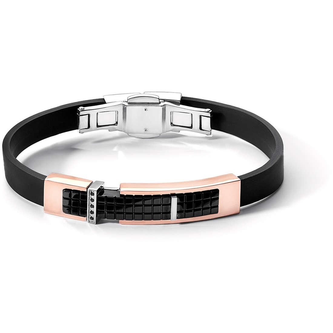 bracelet man jewellery Comete Acciaio UBR 394