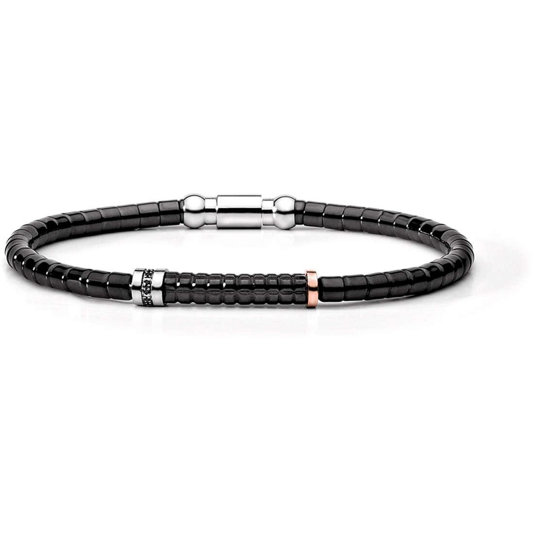 bracelet man jewellery Comete Acciaio UBR 396 M19