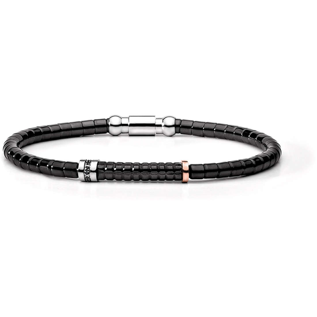 bracelet man jewellery Comete Acciaio UBR 396