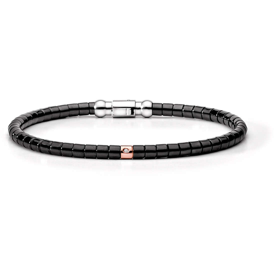 bracelet man jewellery Comete Acciaio UBR 398 M19
