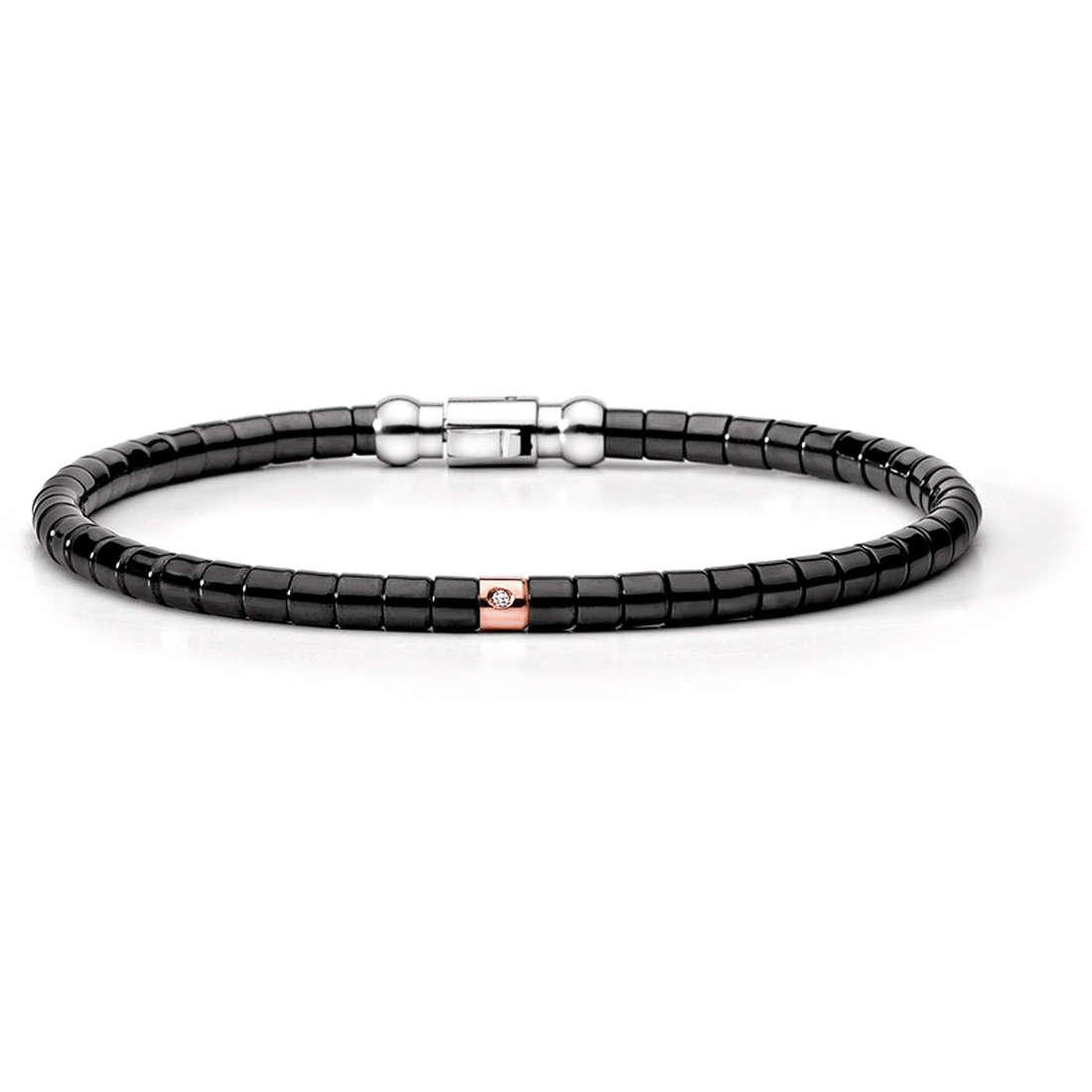 bracelet man jewellery Comete Acciaio UBR 398
