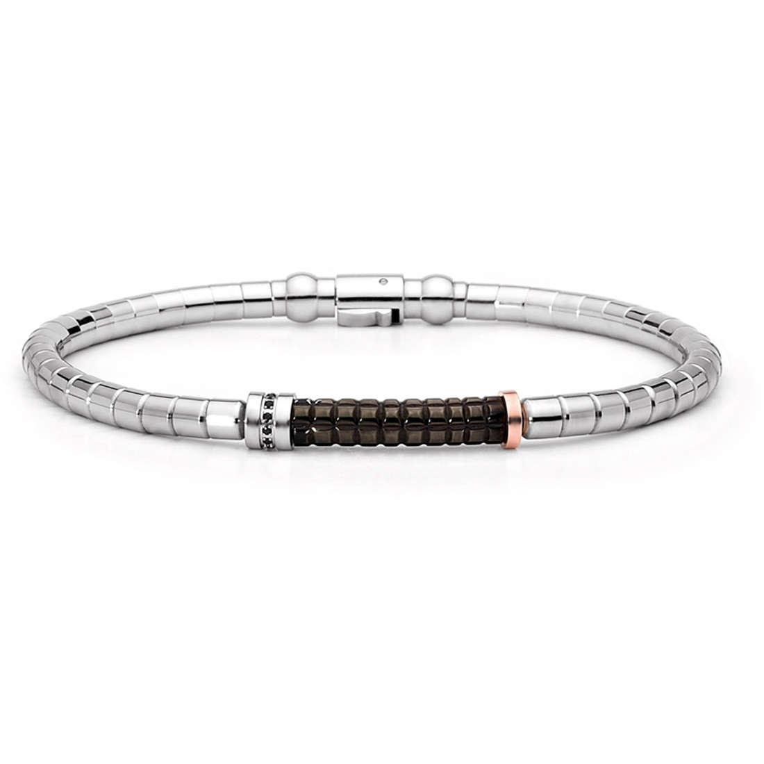 bracelet man jewellery Comete Acciaio UBR 399 M19