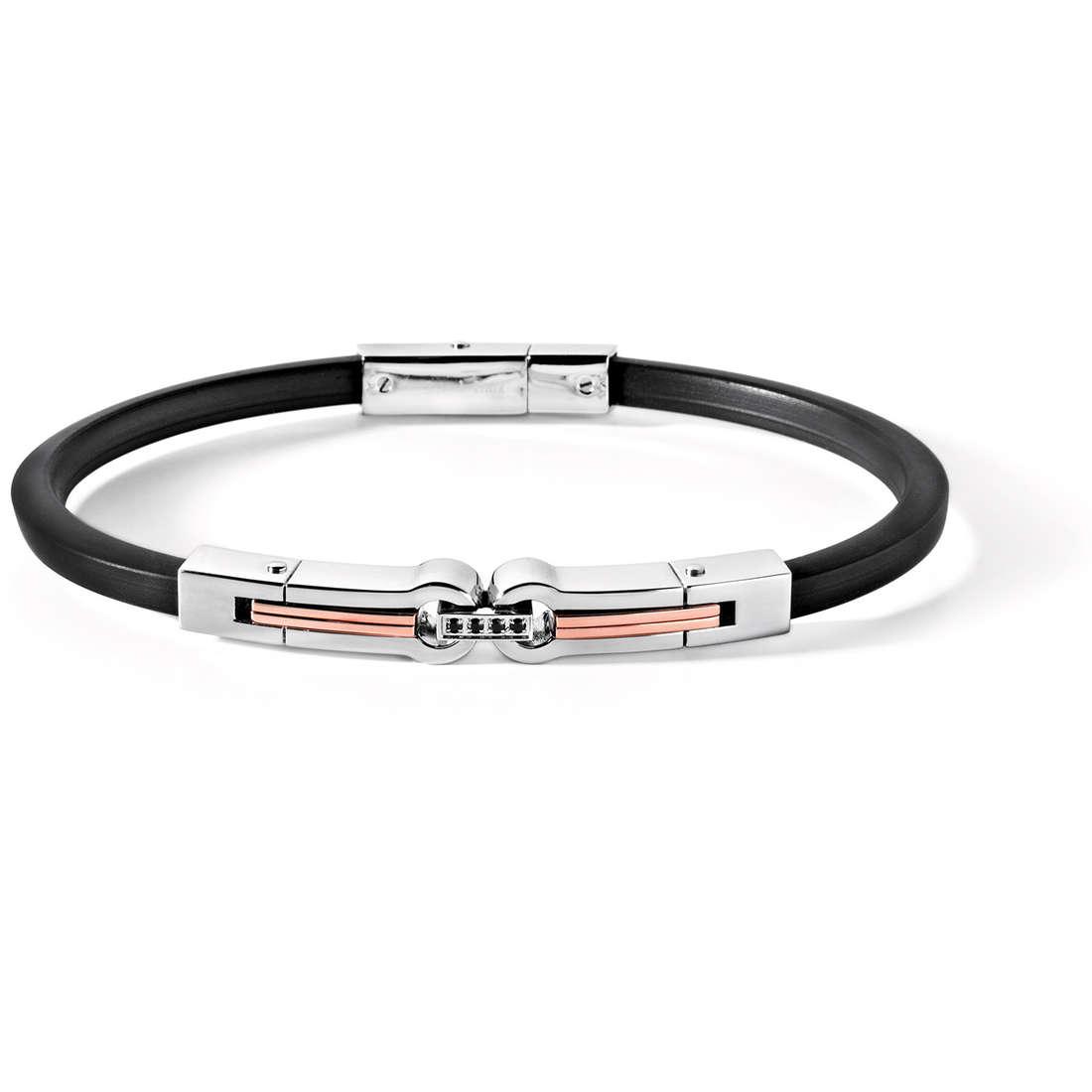 bracelet man jewellery Comete Acciaio UBR 408