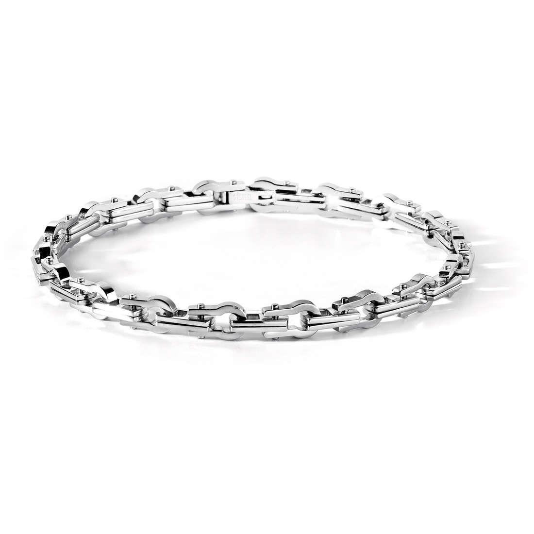 bracelet man jewellery Comete Acciaio UBR 409