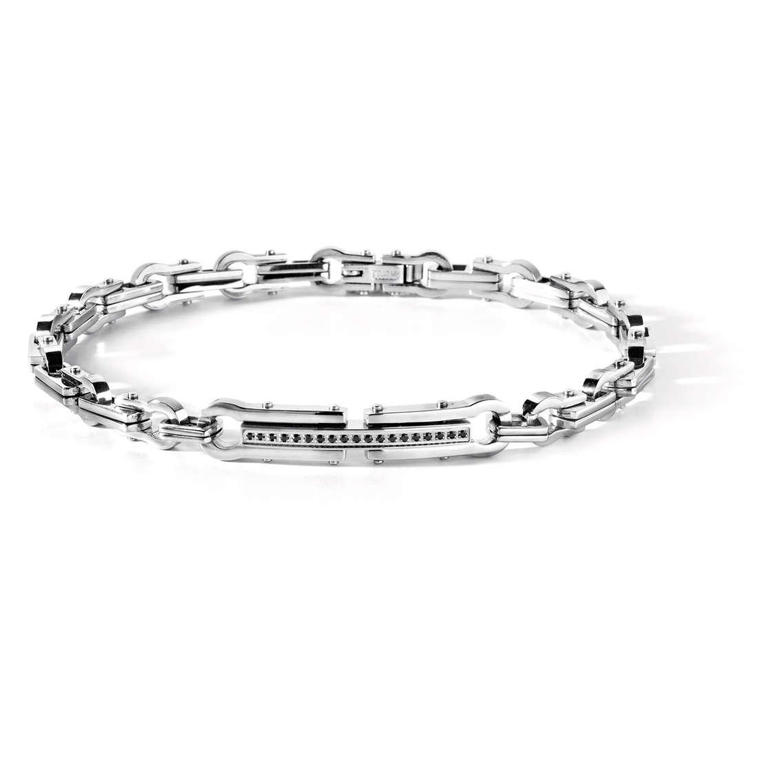 bracelet man jewellery Comete Acciaio UBR 410