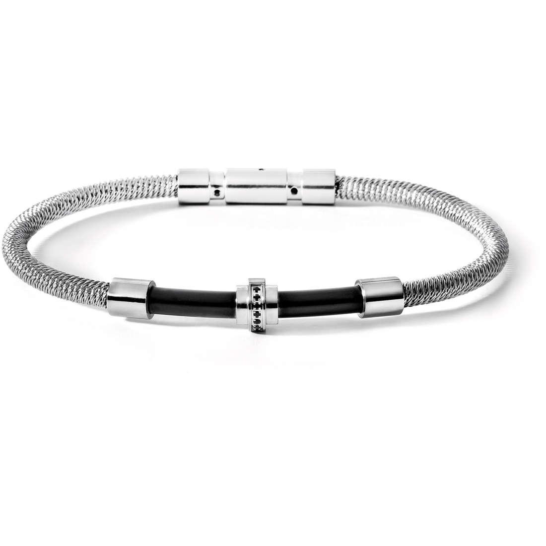 bracelet man jewellery Comete Acciaio UBR 411 M19