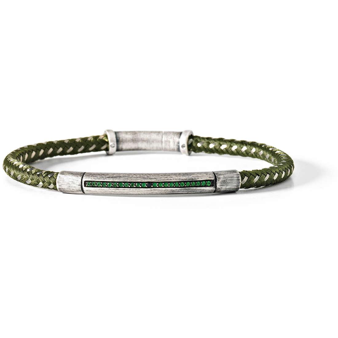 bracelet man jewellery Comete Acciaio UBR 421