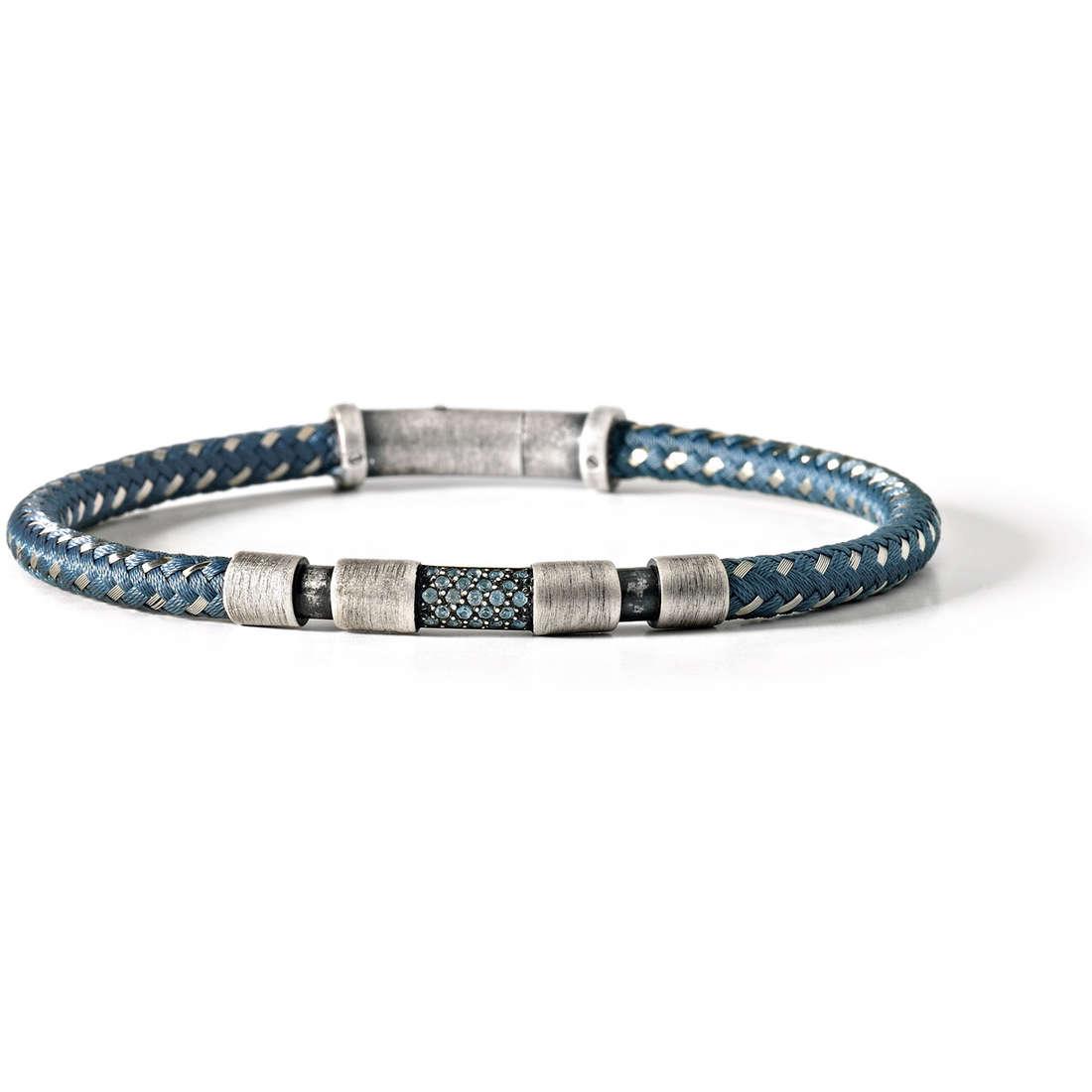 bracelet man jewellery Comete Acciaio UBR 423