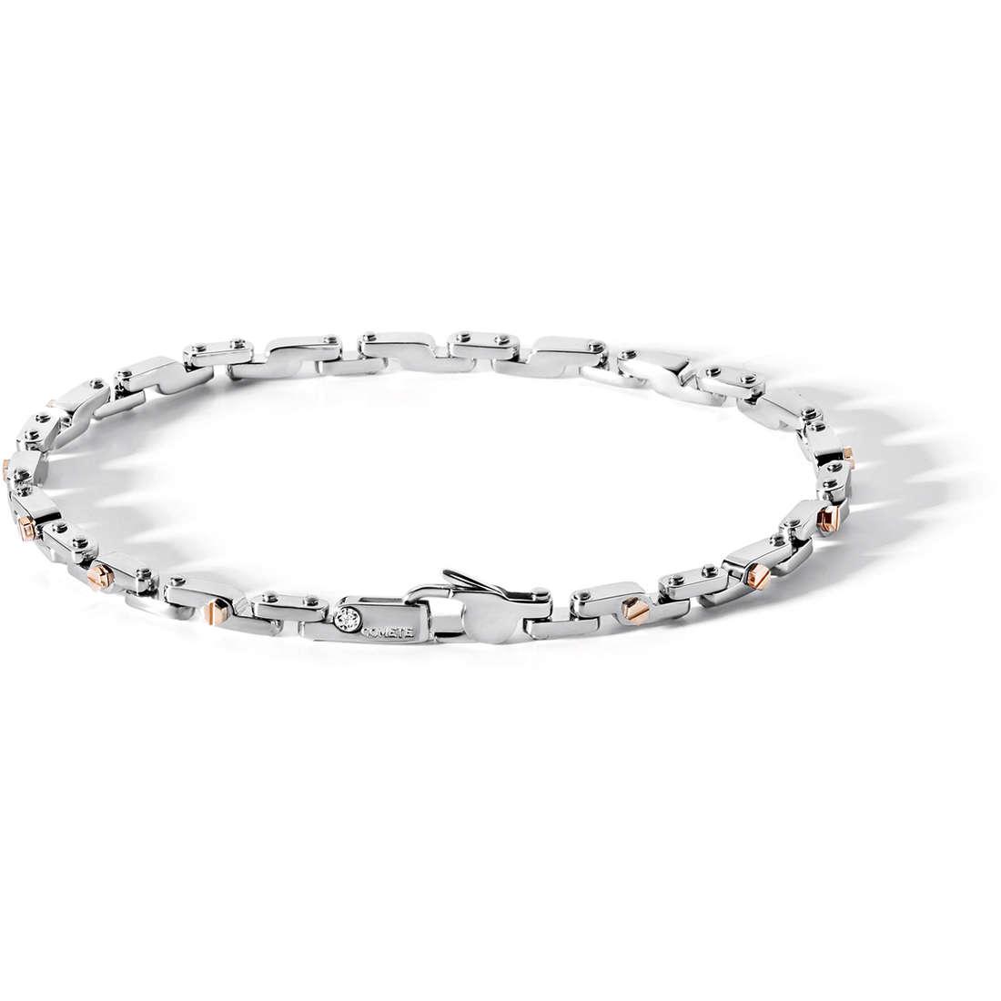 bracelet man jewellery Comete Acciaio UBR 425