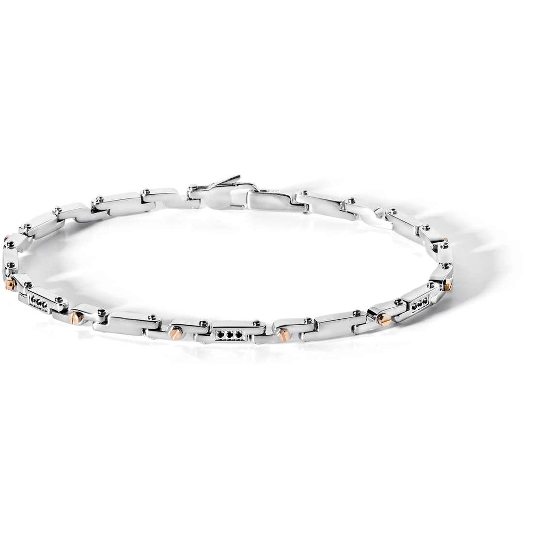 bracelet man jewellery Comete Acciaio UBR 426