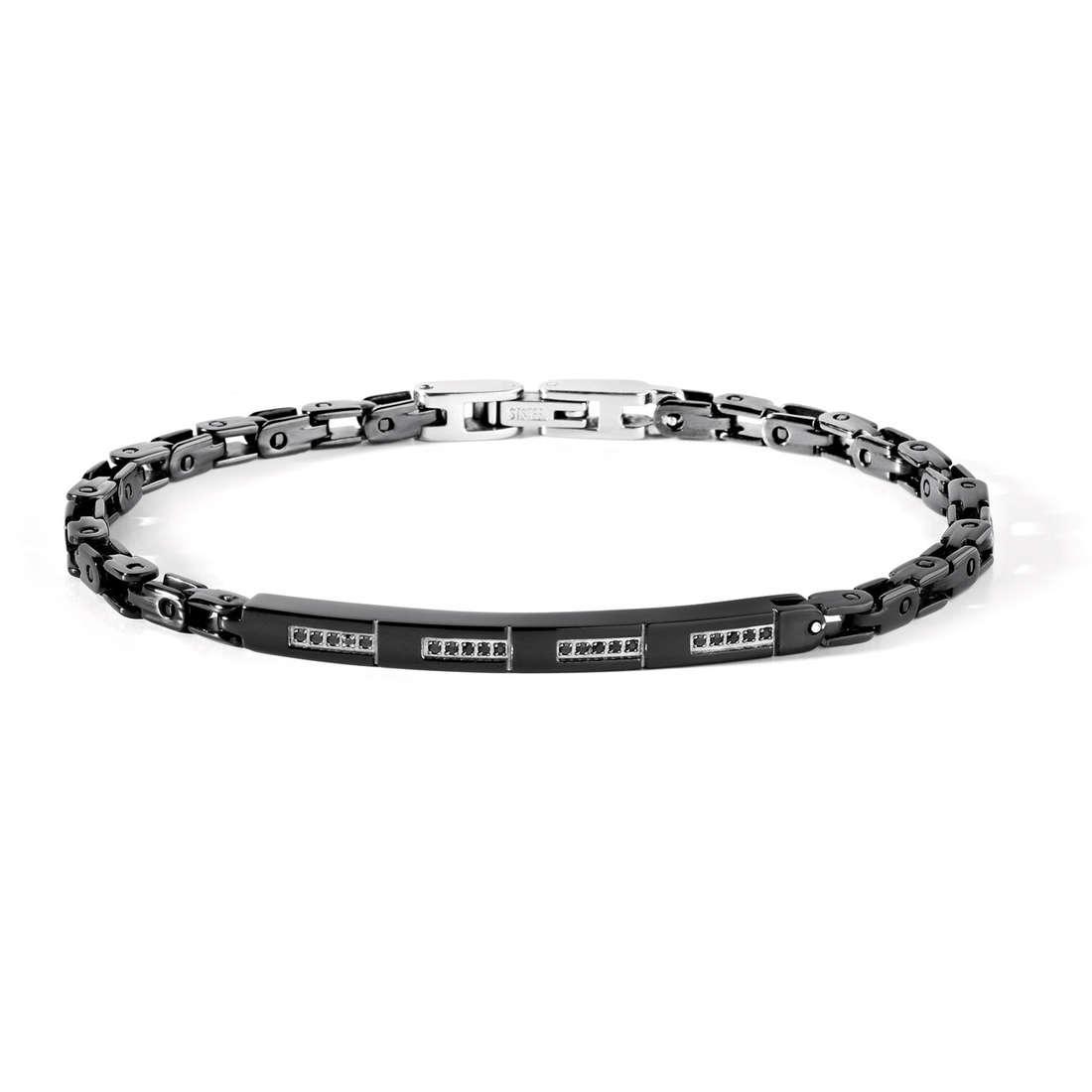 bracelet man jewellery Comete Acciaio UBR 428