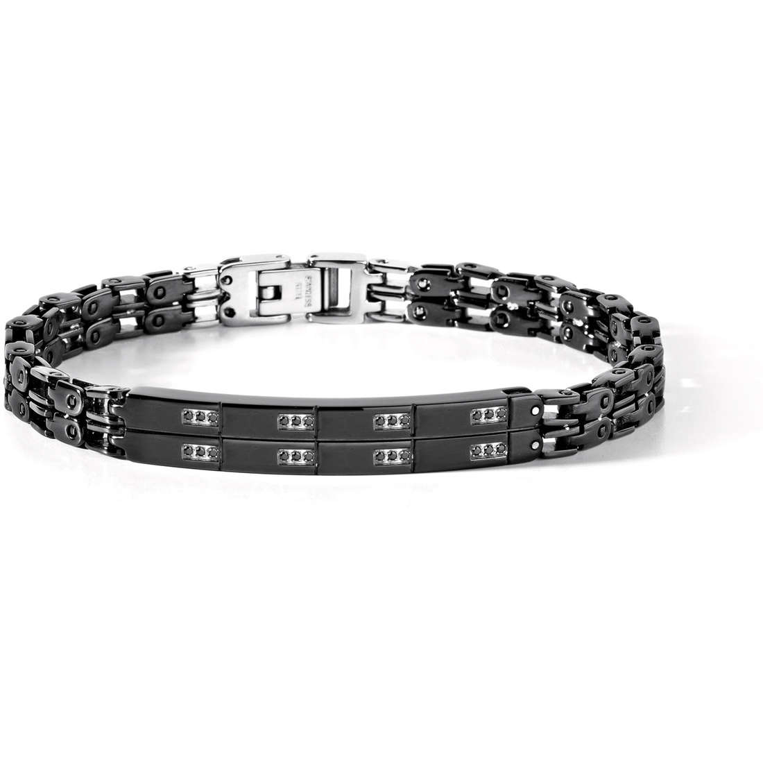 bracelet man jewellery Comete Acciaio UBR 431