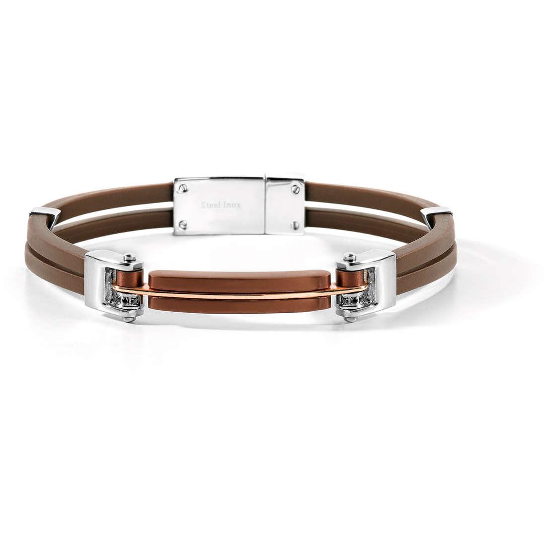 bracelet man jewellery Comete Acciaio UBR 435