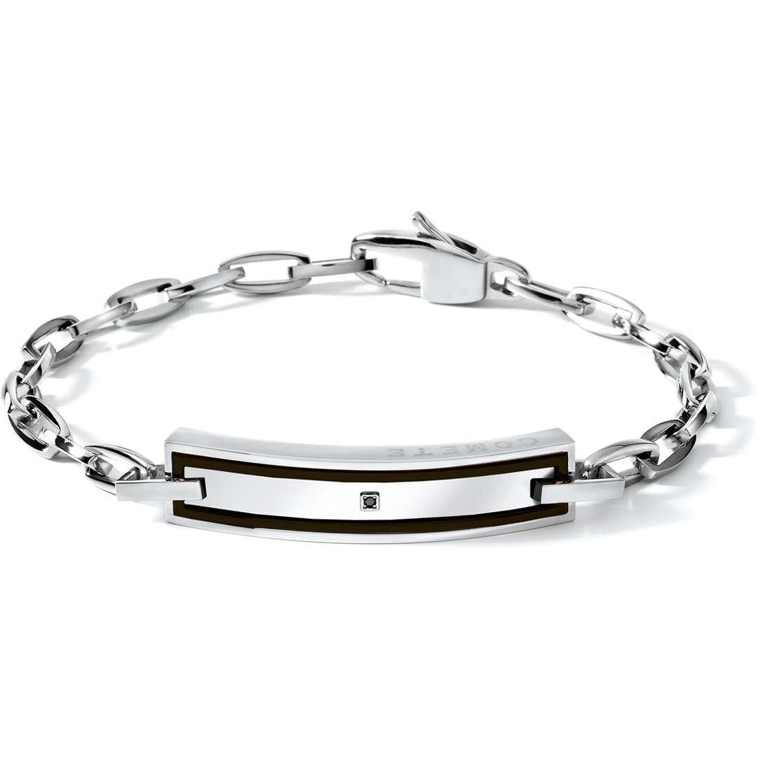 bracelet man jewellery Comete Acciaio UBR 443