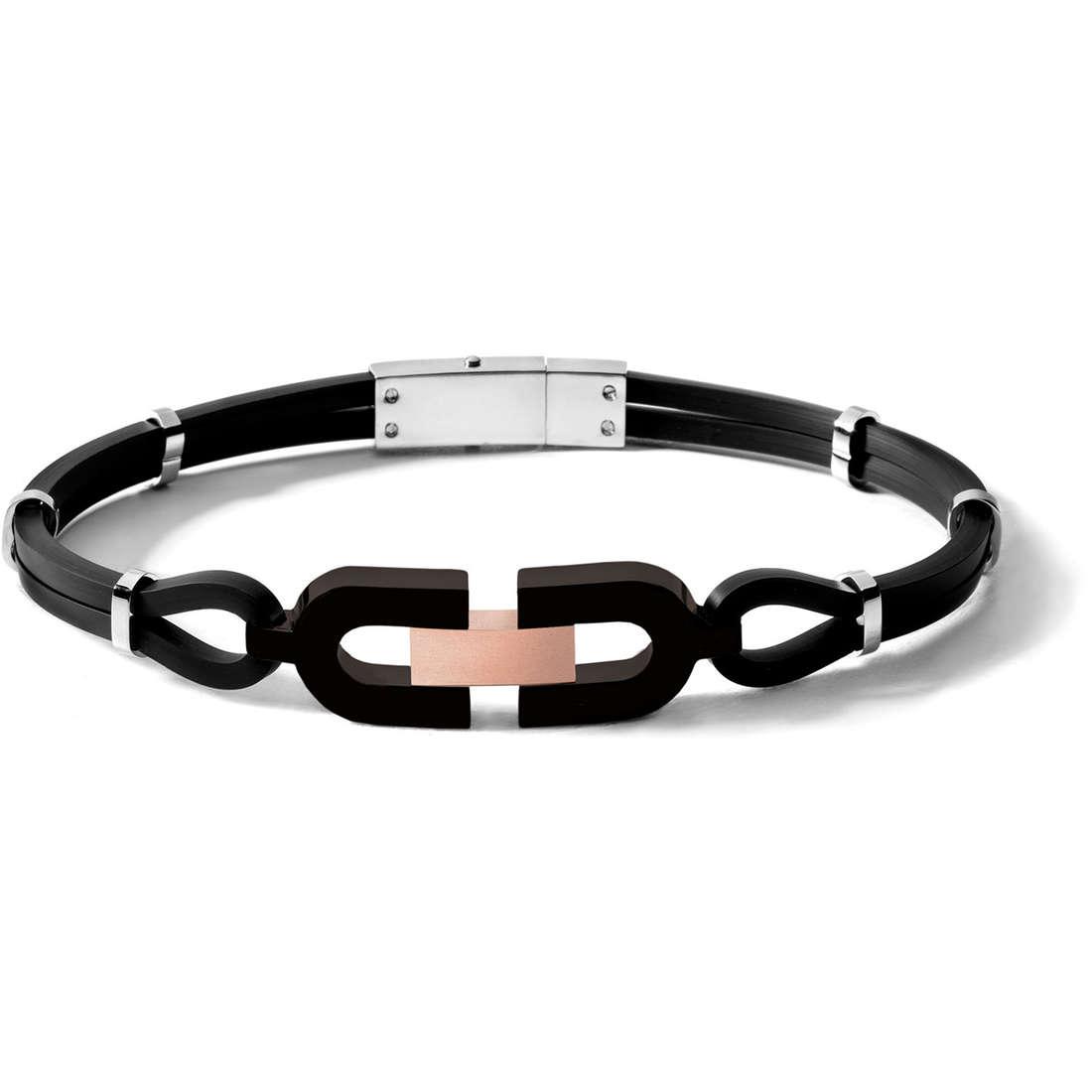 bracelet man jewellery Comete Acciaio UBR 445