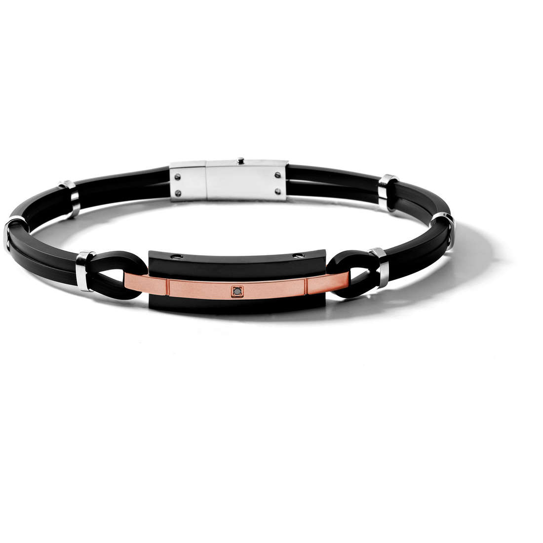 bracelet man jewellery Comete Acciaio UBR 448