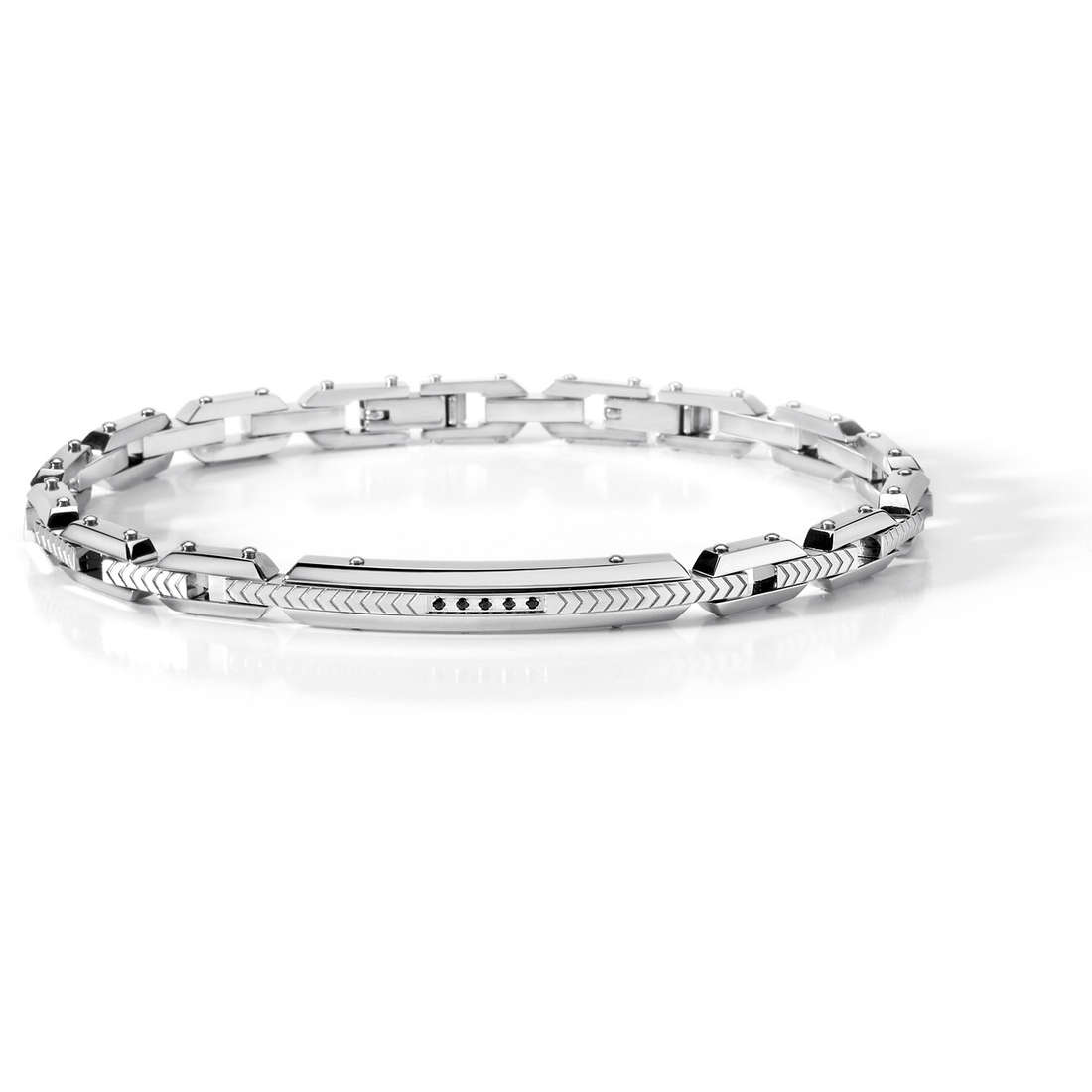 bracelet man jewellery Comete Acciaio UBR 456
