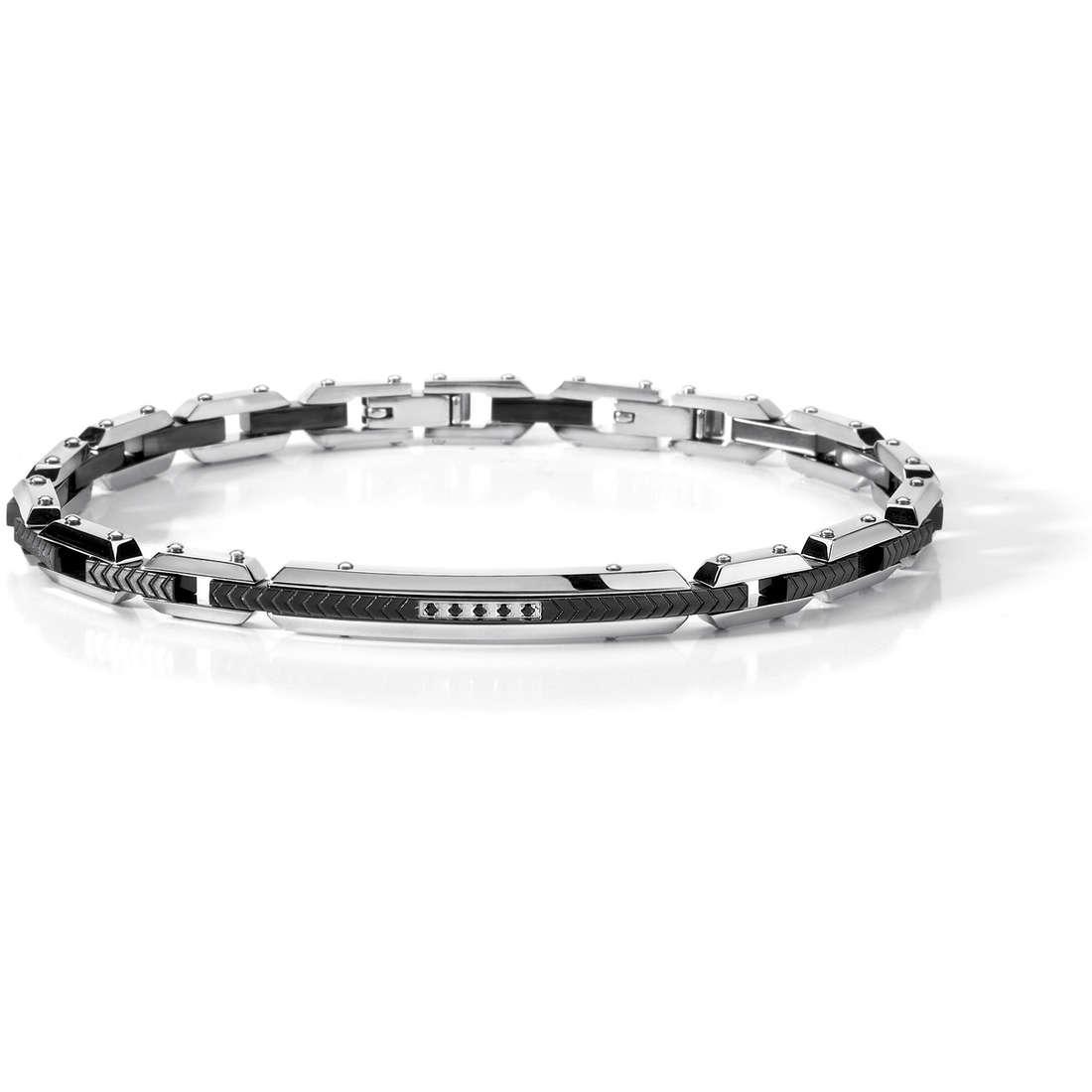 bracelet man jewellery Comete Acciaio UBR 457